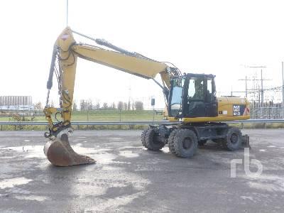 2011 CATERPILLAR M318D Mobile Excavator