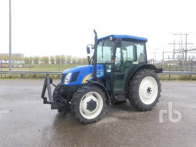 2006 NEW HOLLAND TN75DA 4WD Tractor