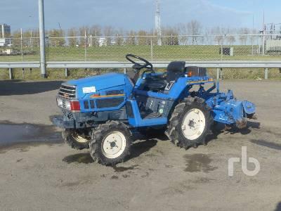ISEKI TU147F 4WD Utility Tractor