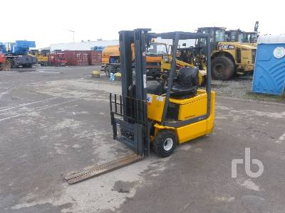 2001 JUNGHEINRICH EFG-DH15 Electric Forklift Parts/Stationary Trucks - Other