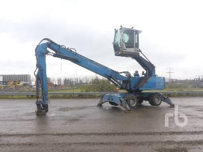 2010 TEREX-FUCHS MHL331 Mobile Material Handler