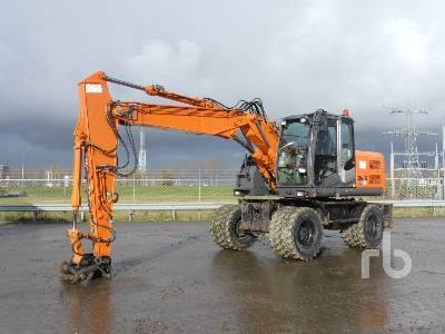 2008 HITACHI ZX140W-3 Mobile Excavator