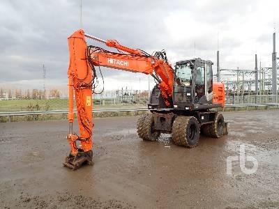 2009 HITACHI ZX140W-3 Mobile Excavator