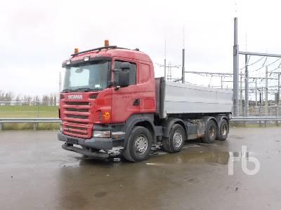2006 SCANIA R500 8x2 Dump Truck (Tri/A)