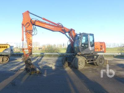 2009 HITACHI ZX170W-3 Mobile Excavator