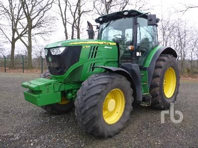 2012 JOHN DEERE 6190R MFWD Tractor
