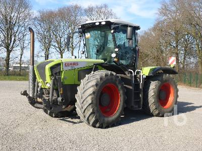 2008 CLAAS XERION 3300 4WD Tractor