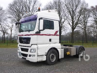 2008 MAN TGX 18.440 BLS 4x2 Truck Tractor (S/A)