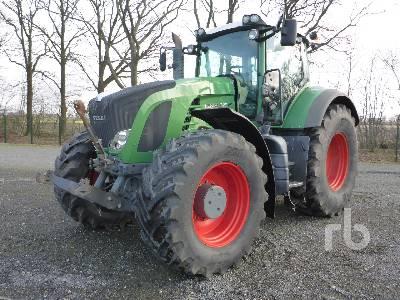 2009 FENDT 922 VARIO Profi MFWD Tractor
