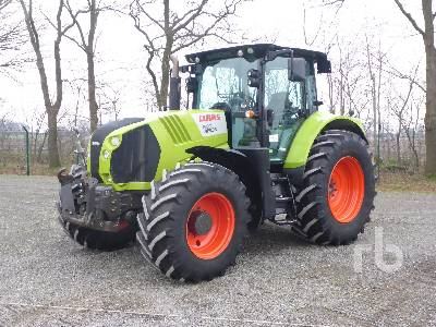 2013 CLAAS ARION 650 CEBIS MFWD Tractor