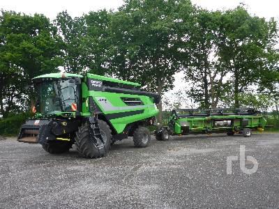 2015 DEUTZ-FAHR C9206TS Combine
