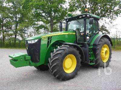 2014 JOHN DEERE 8370R MFWD Tractor