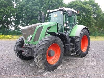 2015 FENDT 828 VARIO S4 PO MFWD Tractor