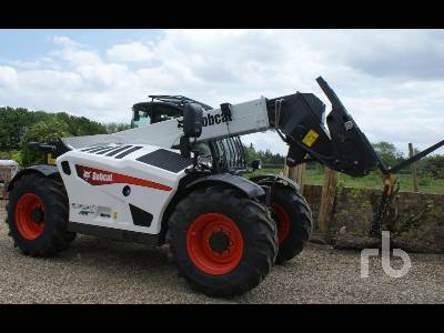 Unused 2020 BOBCAT TL43.80HF AGRI Telescopic Forklift