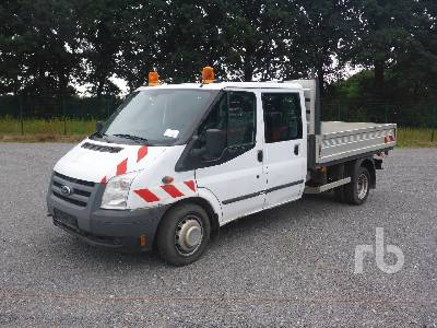 2011 FORD TRANSIT 4x2 Flatbed Truck