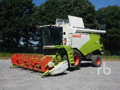 2015 CLAAS TUCANO 430 APS Rice Combine