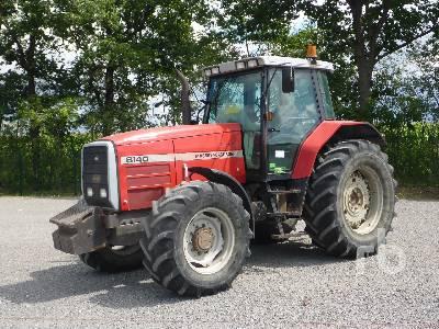 1996 MASSEY FERGUSON 8140 MFWD Tractor