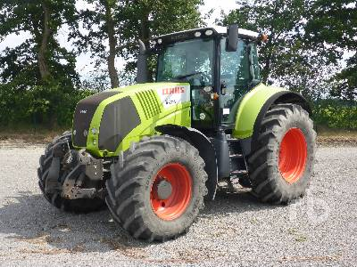2013 CLAAS AXION 810CIS MFWD Tractor