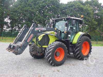 2013 CLAAS ARION 540CIS MFWD Tractor