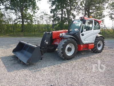 2013 MANITOU MLT840-137PS Elite 4x4x4 Telescopic Forklift