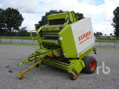 2000 CLAAS VARIANT 180 RotoCut Round Baler