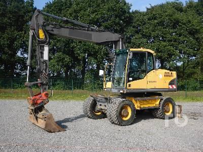 2008 VOLVO EW160C 4x4 Mobile Excavator