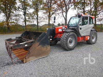 2014 MANITOU MLT840-137PS EL Telescopic Forklift