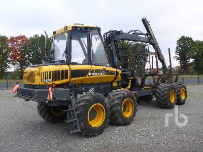 2010 PONSSE WISENT 8W Log Forwarder