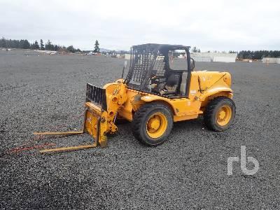 2000 JCB 520 4400 Lb 4x4 Telescopic Forklift