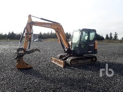 2017 CASE CX57C Midi Excavator (5 - 9.9 Tons)