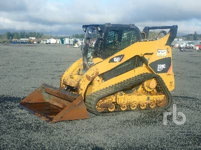 2012 CATERPILLAR 289C High Flow Compact Track Loader