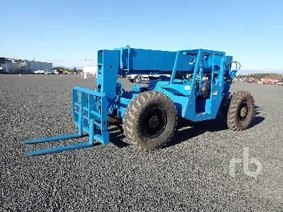1987 GRADALL 534B8 6000 Lb 4x4 Telescopic Forklift