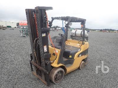 2006 CATERPILLAR C6500 4800 Lb Forklift