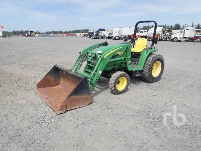 2001 JOHN DEERE 4310 4WD Utility Tractor