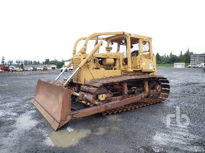 1981 CATERPILLAR D6D Crawler Tractor