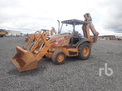 2012 CASE 580SN 4x4 Loader Backhoe