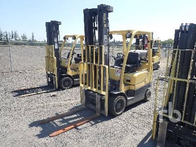 2014 HYSTER S55FTS 5050 Lb Forklift