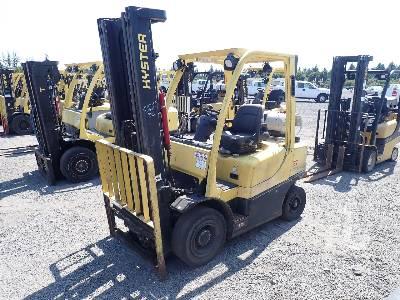 2013 HYSTER H50FT 4750 Lb Forklift