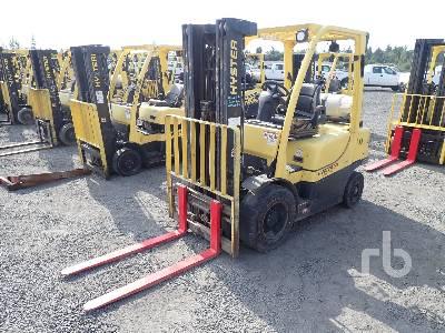 2014 HYSTER H50FT 4800 Lb Forklift