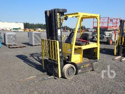 2015 HYSTER E45XN 2000 Lb Electric Forklift