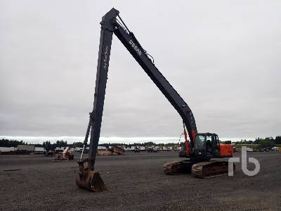 2007 HITACHI ZX350LC-3 Long Reach Hydraulic Excavator