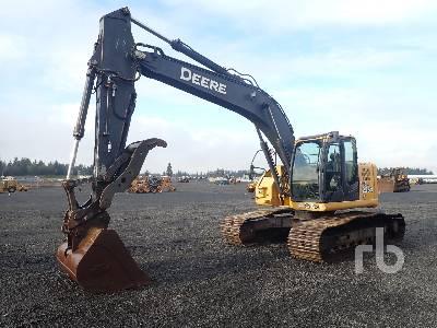 2012 JOHN DEERE FF225DX LC Hydraulic Excavator