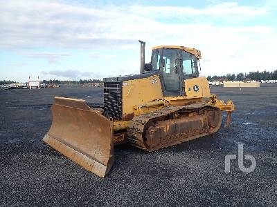 2007 JOHN DEERE 850J LT Crawler Tractor