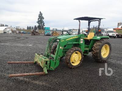 2012 JOHN DEERE 5075E MFWD Tractor