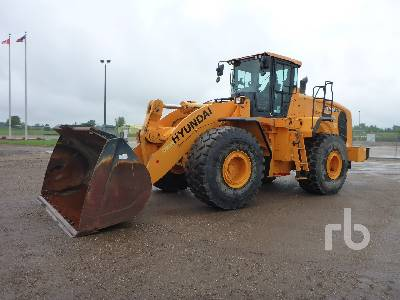 2016 HYUNDAI HL980XT Wheel Loader
