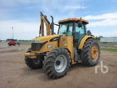 2008 CHALLENGER MT535BMR 4WD Tractor