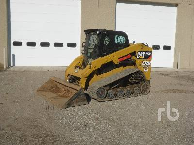 2015 CATERPILLAR 277D XPS 2 Spd High Flow Multi Terrain Loader