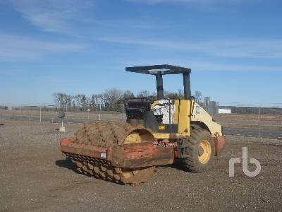 2002 DYNAPAC CA152PD Vibratory Padfoot Compactor