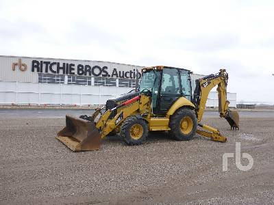 2011 CATERPILLAR 420EIT Loader Backhoe