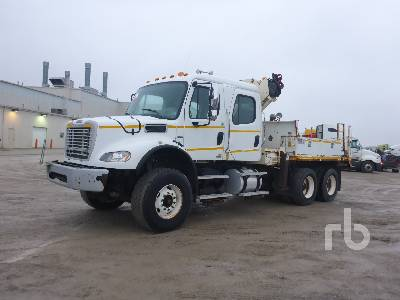 2008 FREIGHTLINER M2112V Crew Cab T/A w/National N100 6.75 T Boom Truck